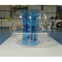 Wholesale Blue Transparent Inflatable Bubble Soccer Ball For Football Body Bumper from china suppliers