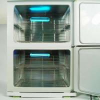 Wholesale Hot Towel Cabinet UV Sterilizer Warmer for Beauty Salon Spa 23L * 2 from china suppliers