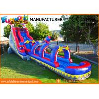 China Silk Printing Commercial Banzai Inflatable Water Slides For Outdoor Entertainment on sale