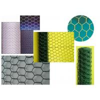 Galvanized Hexagonal Chicken Wire Netting Green 25 mm with PVC Coated