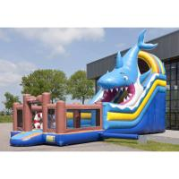 Outdoor Inflatable Bounce House Mini PVC Bouncer Highly Durable For Kids