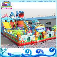 Wholesale Super Commercial Jumping Castles Sale Inflatable Castle Inflatable bouncy for kids play from china suppliers