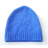 Buy cheap Autumn Warm Merino Wool Cashmere Hat , Adults Knitted Crochet Rib Hat from wholesalers