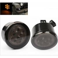 Wholesale Yellow LED Vehicle Work Light Front Turn Signal Light Assembly With Smoke Lens from china suppliers