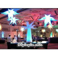 White Special Inflatable Led Light with Blower for Wedding and Trade Show