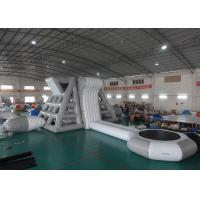 China Amercian Customized Water Park Combo Inflatable , Inflatable Big Slide Park on sale