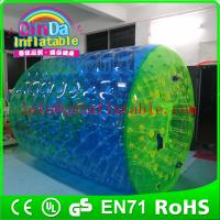 Wholesale QinDa Inflatable water park epuipment for sale inflatable water roller water rolling ball from china suppliers