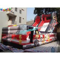 Wholesale Outdoor Large 0.55mm PVC tarpaulin Inflatable Commercial Inflatable Slide for Kids Playing from china suppliers