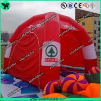 China Red Trade Show Events Inflatable Spider Tent 4 Legs For Advertising Promotion on sale
