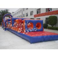 Wholesale Adult Blue Inflatable Indoor Obstacle Course EN14960 For Commercial Promotion from china suppliers