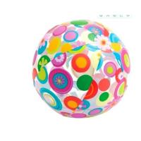 Wholesale 24 Inch Inflatable Beach Ball Splashy Flower Design Lively Print Fun Party Toys from china suppliers