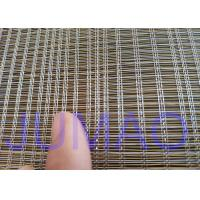 Wholesale 2000mm Width Glass Laminated Brass Woven Metal Wire Mesh Fabric For Art Design from china suppliers