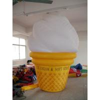 Wholesale inflatable product model replica / inflatable advertising giant icecream from china suppliers