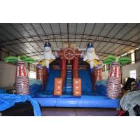 Buy cheap Pirate Themed Dolphins Commercial Inflatable Water Slides For Rental In from wholesalers