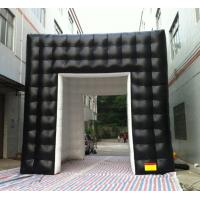 Wholesale 5m Black Inflatable Advertising Cube Tent from china suppliers