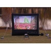 Wholesale Commercial Inflatable Movie Screen 210 D Reinforced Oxford Material from china suppliers