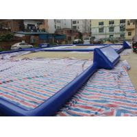 Wholesale Customized 24m x 18m Inflatable Football Field / Soccer Field For Bubble Ball from china suppliers