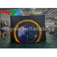 Quality Digital Printing Oxford Cloth Inflatable Photo Booth With Light Customize Logo for sale