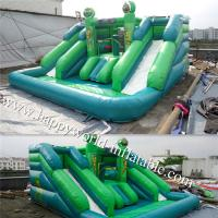 Wholesale inflatable water slide with pool , inflatable castle slide , inflatable vagina slide from china suppliers