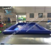 Buy cheap Inflatable single tube pool,Water Inflatable from wholesalers