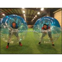 Wholesale Large Human Sized Inflatable Bubble Ball Sports , Bubble Soccer Football from china suppliers