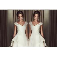 Wholesale Sexy Deep V Neck Sweetheart Lace Wedding Dress 3D Slim Open back wedding gowns from china suppliers
