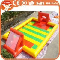 Buy cheap Inflatable Soap Soccer Field, Inflatable Footbal Field, Inflatable Soccer Field from wholesalers
