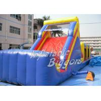 Wholesale Outdoor Backyard Inflatable Obstacle Course For Rental , Waterproof Inflatable Bouncer Slide from china suppliers