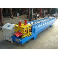 Wholesale Customized Roofing Ridge Cap Roll Forming Machine GI / PPGI Raw Material from china suppliers