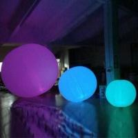 Wholesale Inflatable Party Balloon for Decoration, with LED Lighting, Various Colors are Available from china suppliers