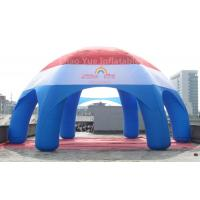 Wholesale Big Customized Inflatable Spider Dome Tent with CE blower from china suppliers