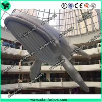 Buy cheap 20m Giant Inflatable Whale Sea Event Inflatable Cartoon Giant Inflatable Animal from wholesalers