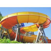 Wholesale Thrilling Giant Boomerang Water Slide 18.75m Height from china suppliers