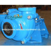 Wholesale Rubber Lined Slurry Pump Driven by Electric Motor Model 3 / 2 CAH Painted Blue with Galvanized Bolts from china suppliers