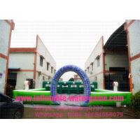 Wholesale 6Pcs Airtight Fun Derby Inflatable Sports Games , Inflatable Horse Race Sport Fire Retardant from china suppliers