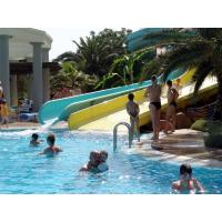 Wholesale 8m Fiberglass Spiral Swimming Pool Water Slides , Aqua Park Equipment from china suppliers