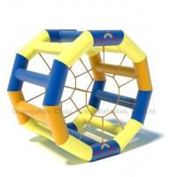 China High Quality PVC Tarpaulin Inflatable Water Roller Ball for water game on sale