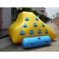 Wholesale 2.4m water iceberg,water games equipment from china suppliers