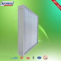 Wholesale Ventilation Washable Pleated Panel Air Filters Industrial With High Efficiency from china suppliers