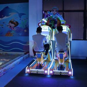 China Single Player Virtual Reality Simulator / Bicycle Driving Game Machine on sale