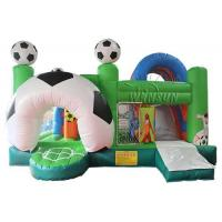 China Soccer Themed Inflatable Children'S Bounce House / Commercial Bounce House on sale