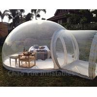 Wholesale Outdoor Inflatable Bubble Tent with Single Tunnel for camping from china suppliers