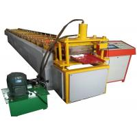 Wholesale 380v Ghana Selflock  Roll Forming Machine For 0.3-0.7 Coil With 3 Ton Manual Decoiler from china suppliers