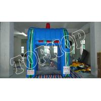Wholesale Blue Inflatable Sports Games Inflatable Cash Machine With EN14960 from china suppliers