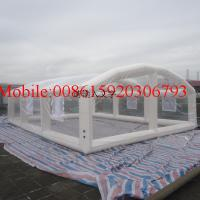 Wholesale transparent inflatable tent outdoor camping inflatable clear air dome tent from china suppliers
