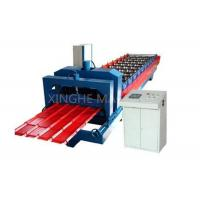 Wholesale Easy Operating Automatic Roll Forming Machines For 840mm Antique Glazed Tile from china suppliers