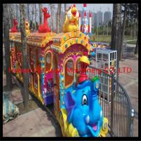 Buy cheap Elephant theme big amusement park rides kiddy train for sale / amusement park from wholesalers