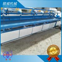 2.5T Weight Chain Link Fence Making Machine 4.2m Weaving Breadth PLC ...
