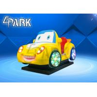 Wholesale 2020 new fiberglass kids ride on car EPARK coin operated swing ride on machine for shopping center from china suppliers