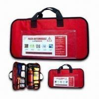 Wholesale Auto Emergency Tool Kit, Includes Cotton Gloves, Safety Hammer and Reflective Vest from china suppliers